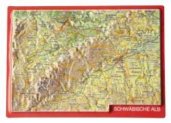 Cover-Bild zu Reliefpostkarte Schwäbische Alb von Markgraf, André