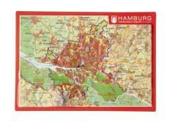 Cover-Bild zu Reliefpostkarte Hamburg von Markgraf, André