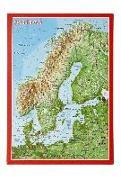 Cover-Bild zu Reliefpostkarte Skandinavien von Markgraf, André