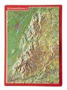 Cover-Bild zu Reliefpostkarte Schwarzwald von Markgraf, André