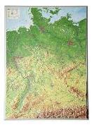 Cover-Bild zu Reliefkarte Deutschland 1 : 1 200 000 von Markgraf, André