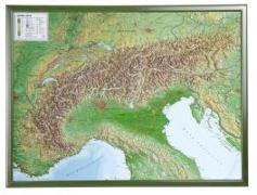 Cover-Bild zu Alpen 1 : 1 200 000 mit Rahmen von Markgraf, André