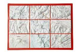 Cover-Bild zu Reliefpostkarte Seven Summits von Markgraf, André
