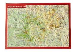Cover-Bild zu Reliefpostkarte Oberfranken von Markgraf, André