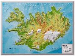 Cover-Bild zu Relief Island klein 1:500.000 von Markgraf, André