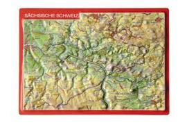 Cover-Bild zu Reliefpostkarte Sächsische Schweiz von Markgraf, André