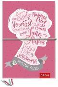 Cover-Bild zu Jane Austen Kreativbuchkalender 2022 von Groh Verlag