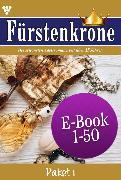 Cover-Bild zu Fürstenkrone Paket 1 - Adelsroman (eBook) von Rohde, Isabell