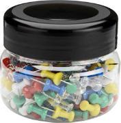 Cover-Bild zu ALCO Pinnwand Nadeln, farbig sortiert 200 Stück