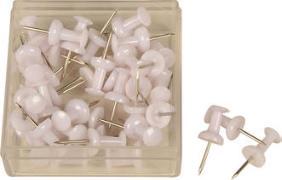 Cover-Bild zu ALCO Pinnwand Nadeln, weiss 40 Stück