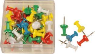 Cover-Bild zu ALCO Pinnwand Nadeln, farbig sortiert 40 Stück