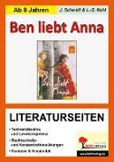 Cover-Bild zu Ben liebt Anna - Literaturseiten von Kohl, Lynn S.