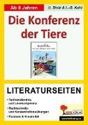 Cover-Bild zu Konferenz der Tiere / Literaturseiten