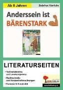 Cover-Bild zu Anderssein ist bärenstark - Literaturseiten von Hinrichs, Sabrina