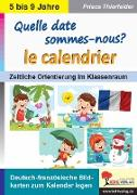 Cover-Bild zu Quelle date sommes-nous? Le calendrier (eBook) von Thierfelder, Prisca