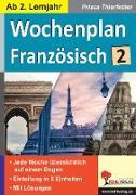 Cover-Bild zu Wochenplan Französisch / ab 2. Lernjahr (eBook) von Thierfelder, Prisca