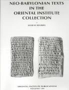 Cover-Bild zu Neo-Babylonian Texts in the Oriental Institute Collection von Weisberg, David B.