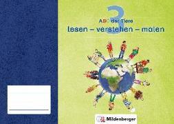 Cover-Bild zu ABC der Tiere 3 · lesen - verstehen - malen von Kresse, Tina