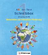 Cover-Bild zu ABC der Tiere - Schreibbox, Druckschrift von Kresse, Tina
