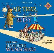 Cover-Bild zu Mr. Tiger, Betsy und das magische Wunscheis von Gardner, Sally