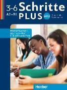 Cover-Bild zu Schritte plus Neu 1-3 A2-B1 Deutsch als Zweitsprache. Prüfungsheft Deutsch-Test für Zuwanderer mit Audio-CD von Gerbes, Johannes