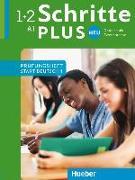 Cover-Bild zu Schritte plus Neu 1+2 A1 Prüfungstraining. Prüfungsheft Start Deutsch 1 mit Audio-CD