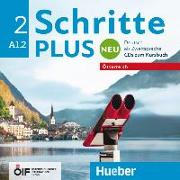 Cover-Bild zu Schritte plus Neu 2 - Österreich. 2 Audio-CDs zum Kursbuch von Niebisch, Daniela