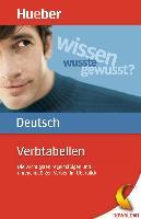 Cover-Bild zu Verbtabellen Deutsch (eBook) von Dinsel, Sabine