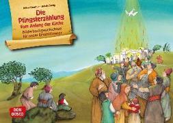 Cover-Bild zu Die Pfingsterzählung. Vom Anfang der Kirche. Kamishibai Bildkartenset von Oberthür, Rainer