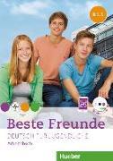 Cover-Bild zu Beste Freunde B1/1 Arbeitsbuch mit Audio-CD von Georgiakaki, Manuela