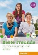 Cover-Bild zu Beste Freunde A2. Paket Arbeitsbuch A2/1 und A2/2 mit 2 Audio-CDs von Georgiakaki, Manuela