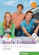 Cover-Bild zu Beste Freunde B1. Paket Arbeitsbuch B1/1 und B1/2 mit Audio-CD von Georgiakaki, Manuela