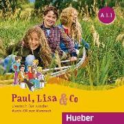 Cover-Bild zu Paul, Lisa & Co A1/1 - Audio-CD von Bovermann, Monika