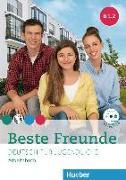 Cover-Bild zu Beste Freunde B1/2. Arbeitsbuch mit Audio-CD von Georgiakaki, Manuela