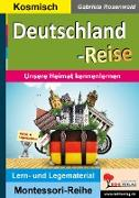 Cover-Bild zu Deutschland-Reise (eBook) von Rosenwald, Gabriela