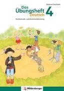 Cover-Bild zu Das Übungsheft Deutsch 4 von Drecktrah, Stefanie