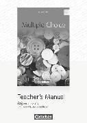 Cover-Bild zu Multiple Choice. Teacher's Manual von Strohbach, Julia