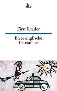 Cover-Bild zu First Reader, Erste englische Lesestücke von Wiegand, Frieda (Illustr.)