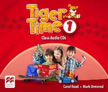 Cover-Bild zu Tiger Time Level 1 Audio CD von Read, Carol