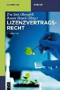 Cover-Bild zu Lizenzvertragsrecht von Obergfell, Eva Inés (Hrsg.)