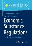 Cover-Bild zu Economic Substance Regulations (eBook) von Zimmermann, Marc
