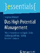 Cover-Bild zu Das High Potential Management (eBook) von Weinert, Stephan