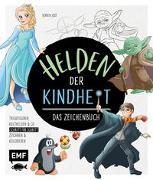 Cover-Bild zu Jost, Berrin: Helden der Kindheit - Das Zeichenbuch