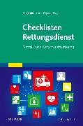 Cover-Bild zu Checklisten Rettungsdienst von Löwe, Frank