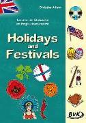Cover-Bild zu Lernen an Stationen im Englischunterricht: Holidays and Festivals (inkl. CD) von Altgen, Christine