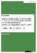 Cover-Bild zu Haas, Annika: Kritische Diskursanalyse des Korpus BILD und FAZ zum Thema NPD-Verbotsverfahren und Urteilsverkündung des Bundesverfassungsgerichtes am 17.01.2017 (eBook)