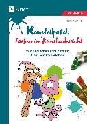Cover-Bild zu Komplettpaket Farben im Kunstunterricht von Wamsler, Mark