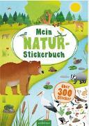 Cover-Bild zu Mein Natur-Stickerbuch von Schumacher, Timo (Illustr.)