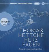 Cover-Bild zu Hettche, Thomas: Herzfaden. Roman der Augsburger Puppenkiste