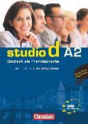 Cover-Bild zu Studio d, Deutsch als Fremdsprache, Grundstufe, A2: Gesamtband, Video-DVD mit Übungsbooklet